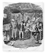Dickens Oliver Twist Fleece Blanket