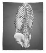 Digestive System And Bones Fleece Blanket