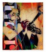 Dizzy Gillespie Collection Fleece Blanket
