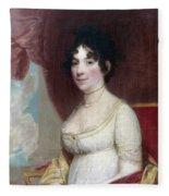 Dolley Payne Todd Madison (1768-1849) Fleece Blanket