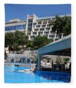 Dubrovnik Palace Fleece Blanket