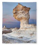 Egytians White Desert Fleece Blanket