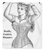 Electric Corset, 1882 Fleece Blanket
