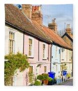 English Cottages Fleece Blanket