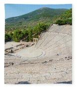 Epidaurus, Argolis, Peloponnese Fleece Blanket