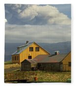 Eyjafjallaj�kull Ash Cloud, Iceland Fleece Blanket