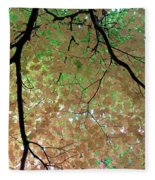Fall Tree Fleece Blanket