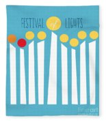 Festival Of Lights Fleece Blanket