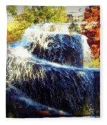 Finlay Park Fountain 3 Fleece Blanket
