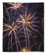 Fireworks Celebration  Fleece Blanket