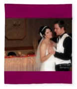 First Dance Fleece Blanket