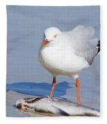 Fishy Find Fleece Blanket