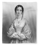 Florence Nightingale Fleece Blanket