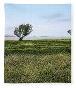 Florida Bay Everglades Fleece Blanket