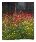 Forest City Fleece Blanket
