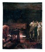 Foundry, 18th Century Fleece Blanket
