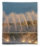 Fountain 1 Fleece Blanket
