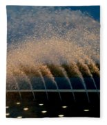 Fountain 2 Fleece Blanket