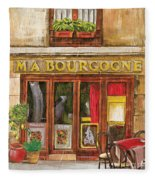 French Storefront 1 Fleece Blanket