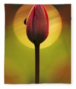 Garden Stories II Fleece Blanket
