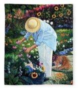 Gardener's Eden Fleece Blanket