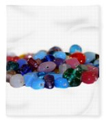 Gemstones Fleece Blanket