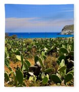 Genoveses Beach Fleece Blanket