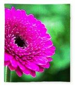 10188 Purple Gerbera Fleece Blanket