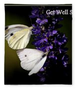 Get Well Soon Fleece Blanket