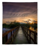 Going Steady Fleece Blanket