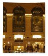 Grand Central Station Fleece Blanket