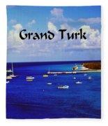 Grand Turk Fleece Blanket