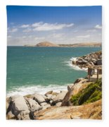 Granite Island Fleece Blanket
