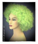 Green Velvet Fleece Blanket