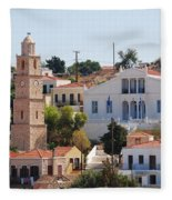 Halki Island Greece Fleece Blanket