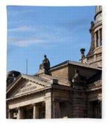 Hanseatic Supreme Court Of Hamburg Fleece Blanket