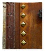 Historic Door Fleece Blanket