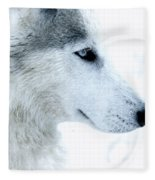 Husky Fleece Blanket