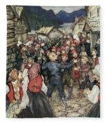 Ibsen: Peer Gynt Fleece Blanket
