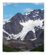 Ice And Snow Fleece Blanket