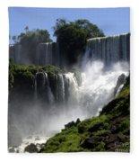 Iguassu Falls Fleece Blanket