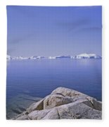 Ilulissat Icefjord Greenland Fleece Blanket