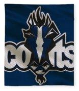 Indianapolis Colts Uniform Fleece Blanket