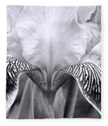 Iris 11 Fleece Blanket