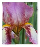 Iris 23 Fleece Blanket