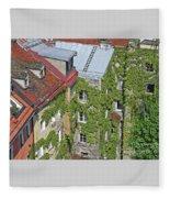 Ivy Courtyard Fleece Blanket