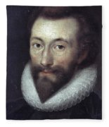 John Donne (1572-1631) Fleece Blanket