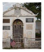 Key West Cemetery Fleece Blanket