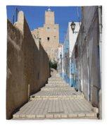 Khalaf Al-fata Lighthouse Fleece Blanket