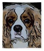 King Charles Art Fleece Blanket
